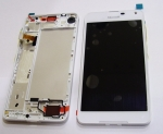 Display and Touchscreen Microsoft Lumia 650/ Lumia 650 DS (White), 00814H6 (original)