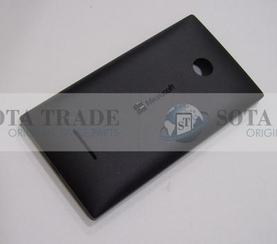 Battery Cover Assembly Microsoft Lumia 435 (black), 02508T6 (original)