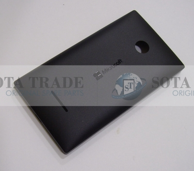 Battery Cover Assembly Microsoft Lumia 435 (black), 02508T6 (original)