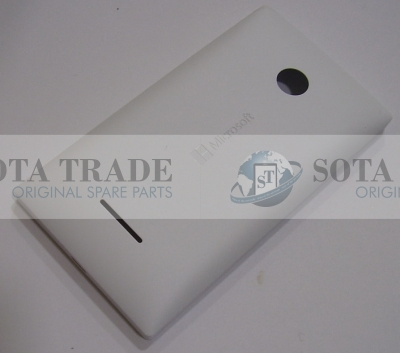 Battery Cover Assembly Microsoft Lumia 435 (white), 02508T7 (original)