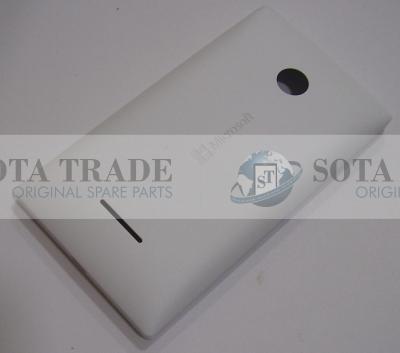 Battery Cover Assembly Microsoft Lumia 435 (white), 02508T7 (original)