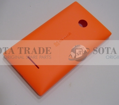 Battery Cover Assembly Assembly Microsoft Lumia 435 (orange), 02508V0 (original)