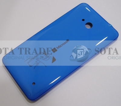 Battery Cover Assembly Microsoft Lumia 640 (Cyan), 02509R9 (original)