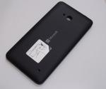 Battery Cover Assembly Microsoft Lumia 640 (Black), 02509T5 (original)