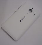 Battery Cover Assembly Microsoft Lumia 640 XL (white), 02510P8 (original)