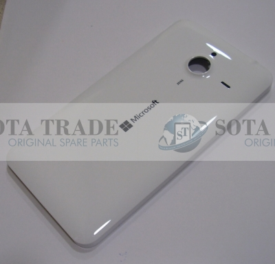 Battery Cover Assembly Microsoft Lumia 640 XL (white), 02510S2 (original)