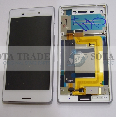 Display LCD & Touchscreen DS Sony Xperia M4 Aqua E2312/ E2333 (White), 124TUL0014A original