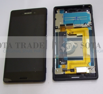Display LCD & Touchscreen DS Sony Xperia M4 Aqua Dual E2312/ E2333 (Black), 124TUL0015A original