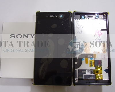 Display LCD & Touchscreen Sony Xperia M5 Dual E5633/ E5653 (Black), 191HLY0003B-BCS original