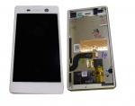 Display LCD & Touchscreen Sony Xperia M5 Dual E5633/ E5653 (White), 191HLY0004B-WCS original