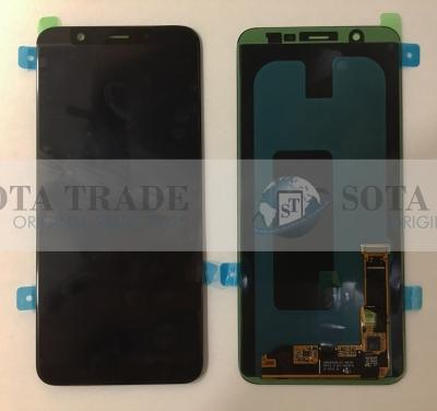 LCD Display & Touchscreen Samsung Galaxy A6+ A605FN (2018) Black, GH97-21878A original
