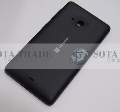 Battery Cover Assembly Microsoft Lumia 535 black, 8003489 (original)