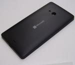 Battery Cover Assembly Microsoft Lumia 540 (black), 8003569 (original)