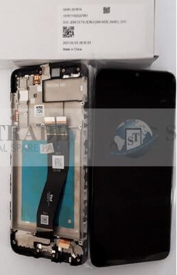 LCD Display & Touchscreen Samsung Galaxy  SM-A025F (A02s 2020) Black, GH81-20181A original