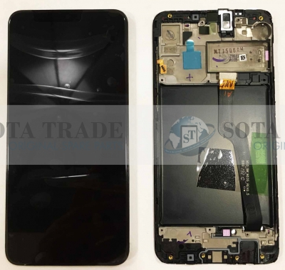 LCD Display & Touchscreen Samsung Galaxy A10 A105 (SM-A105F) (2019) Black, GH82-20227A original