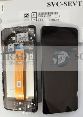 LCD Display & Touchscreen Samsung Galaxy SM-A125 (A12 2020) Black, GH82-24490A original