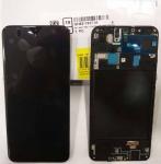 LCD Display & Touchscreen Samsung Galaxy A20 A205F (SM-A205F) (2019) Black, GH82-19571A original