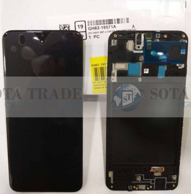 LCD Display & Touchscreen Samsung Galaxy A20 A205F (SM-A205F) (2019) Black, GH82-19571A original