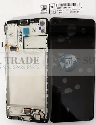 LCD Display & Touchscreen Samsung Galaxy A21s A217 (SM-A217F) Black, GH82-24641A original