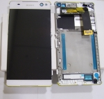 Display LCD & Touchscreen Sony Xperia C5 Ultra E5533, E5553 (White), A/8CS-58880-0002 original