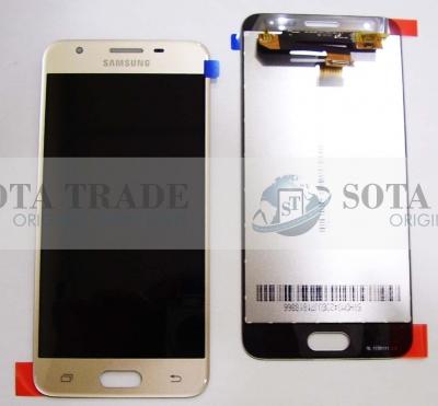 LCD Display & Touchscreen Samsung Galaxy J5 Prime SM-G570F(Gold), GH96-10324A original