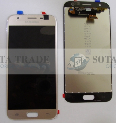 LCD Display & Touchscreen Samsung Galaxy J3 J330 (2017) Gold, GH96-10990A original