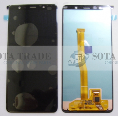 LCD Display & Touchscreen Samsung SM-A750F Galaxy A7 (Black, Gold, Blue), GH96-12078A original