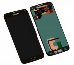 LCD Display & Touchscreen Samsung SM-G900F Galaxy S5 (Black), GH97-15959B original