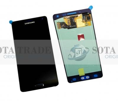 LCD Display & Touchscreen Samsung SM-A500F Galaxy A5 (Black), GH97-16679B original