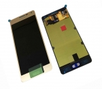 LCD Display & Touchscreen Samsung SM-A500F Galaxy A5 (Gold), GH97-16679F original