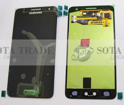 LCD Display & Touchscreen Samsung SM-A300FU Galaxy A3 (Black), GH97-16747B original