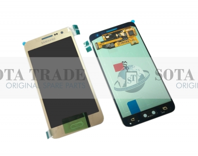 LCD Display & Touchscreen Samsung SM-A300FU Galaxy A3 (Gold), GH97-16747F original