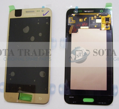 LCD Display & Touchscreen Samsung SM-J500F Galaxy J5 Dual (Gold), GH97-17667C original