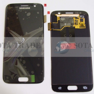 LCD Display & Touchscreen Samsung SM-G930F Galaxy S7 (Black), GH97-18523A original