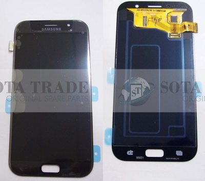 LCD Display & Touchscreen Samsung Galaxy A7 A720 (2017) Black, GH97-19723A original