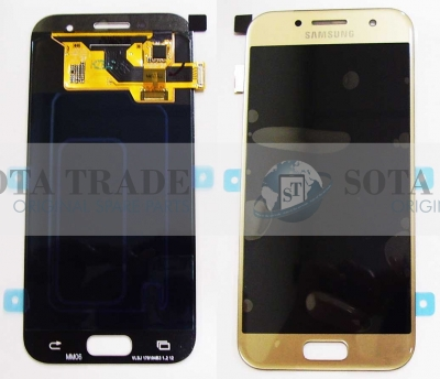 LCD Display & Touchscreen Samsung SM-A320F Galaxy A3 (Gold), GH97-19732B original