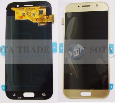 LCD Display & Touchscreen Samsung SM-A520F Galaxy A5 (Gold), GH97-19733B original