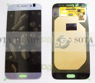 LCD Display & Touchscreen Samsung Galaxy J7 J730 (2017) Silver, GH97-20736B original