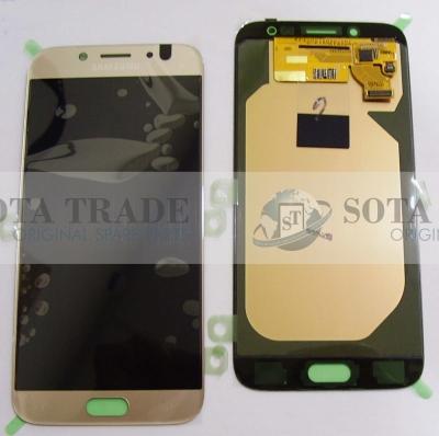 LCD Display & Touchscreen Samsung Galaxy J7 J730 (2017) Gold, GH97-20736C original