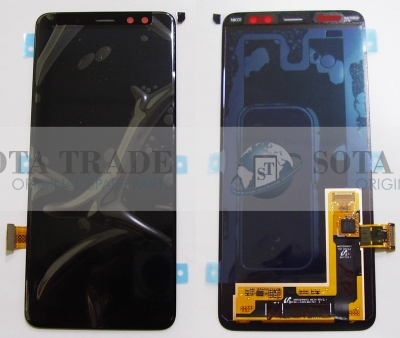 LCD Display & Touchscreen Samsung Galaxy A8 SM-A530 (2018) Black, GH97-21406A original