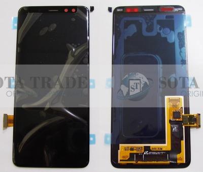 LCD Display & Touchscreen Samsung Galaxy A8 SM-A530 (2018) Black, GH97-21406A original