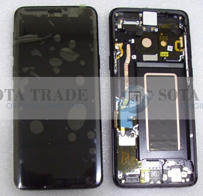 LCD Display & Touchscreen Samsung Galaxy S9 SM-G960F (2018) Black, GH97-21696A original