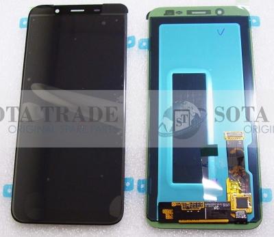 LCD Display & Touchscreen Samsung Galaxy J6 J600 (2018) Black, GH97-21931A original