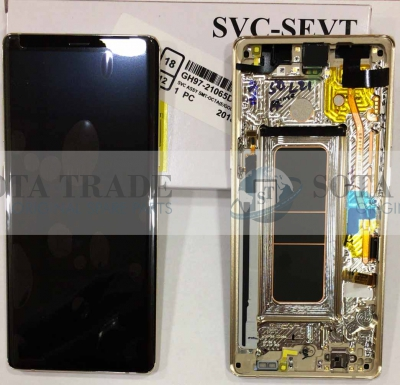 LCD Display & Touchscreen Samsung SM-N950F Galaxy Note 8 (Gold), GH97-21065D original