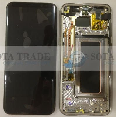 LCD Display & Touchscreen Samsung Galaxy S8 plus duos SM-G955 (Gold), GH97-20470F original