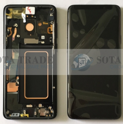 LCD Display & Touchscreen Samsung Galaxy S9 Plus SM-G965F (2018) Black, GH97-21691A original