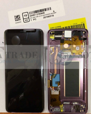 LCD Display & Touchscreen Samsung Galaxy S9 SM-G960F (2018) Purple, GH97-21696B original