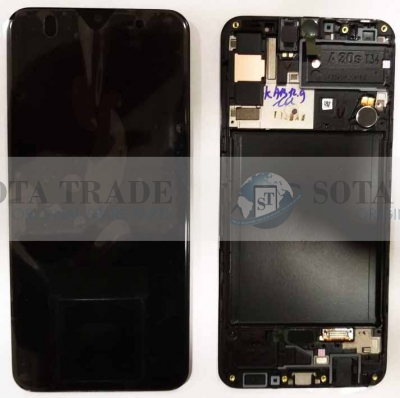 LCD Display & Touchscreen Samsung Galaxy A30s A307F (SM-A307F) (2019) Black, GH82-21190A original